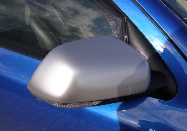 Milotec kryty zrcátek - ABS design matný chrom, Škoda Octavia II