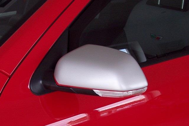 Milotec kryty zrcátek - ABS stříbrný matný, Škoda Octavia II
