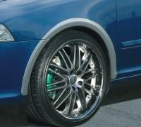 Milotec lemy blatníků, ABS stříbrný matný, Škoda Octavia II RS