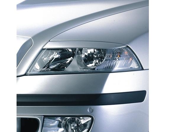 Milotec kryty světlometů (mračítka) - ABS černý, Škoda Octavia II