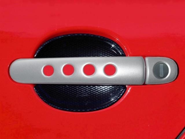 Milotec klik děrované, ABS stříbrný (4+4 ks jeden zámek)