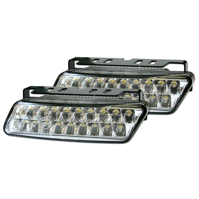 Denní svícení - LED homologace DRL 10