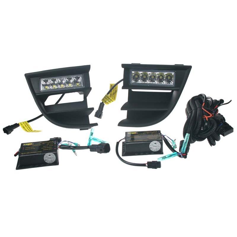 DRL světla pro automatické denní svícení s LED pro Škoda Octavia II verze 2009-(po faceliftu)