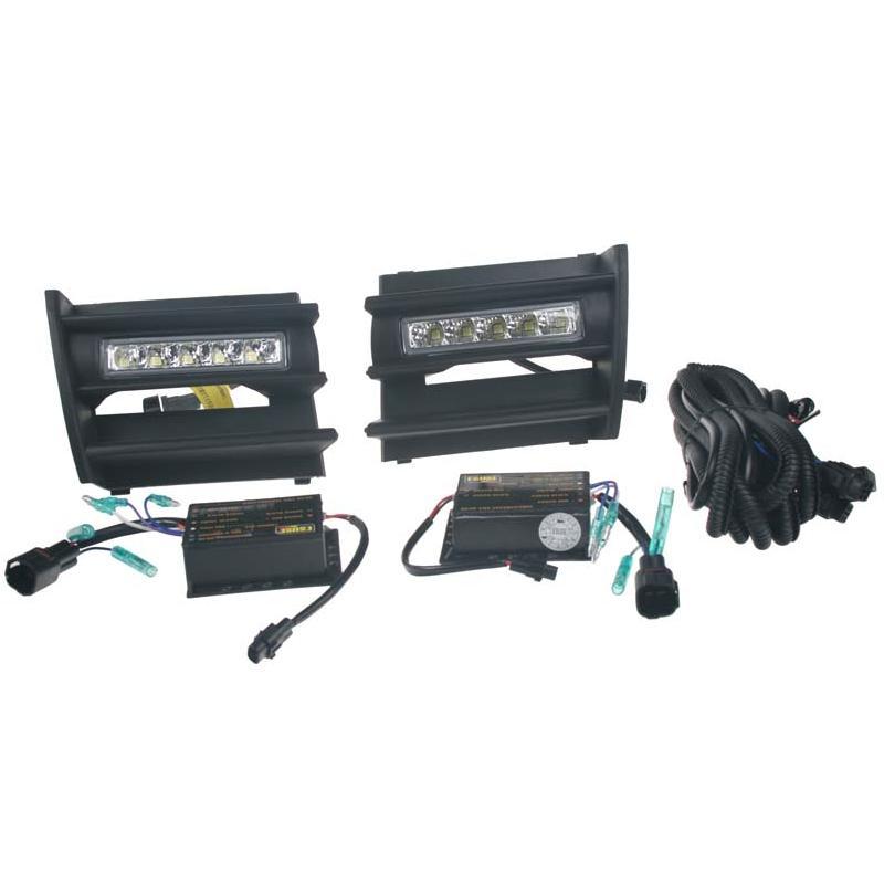 DRL světla pro automatické denní svícení s LED pro Škoda Octavia II 2004-08
