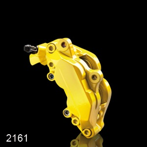 Barva na brzdové třmeny FOLIATEC - žlutá, sada 3ks