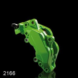 Barva na brzdové třmeny FOLIATEC - zelená, sada 3ks