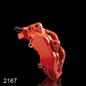 Barva na brzdové třmeny FOLIATEC - oranžová, sada 3ks