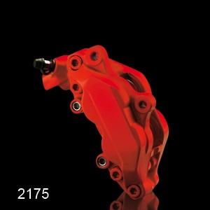 Barva na brzdové třmeny FOLIATEC - červená matná, sada 3ks