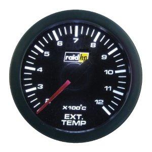 Raid Sport - přídavný palubní budík teplota výfukových plynů EGT