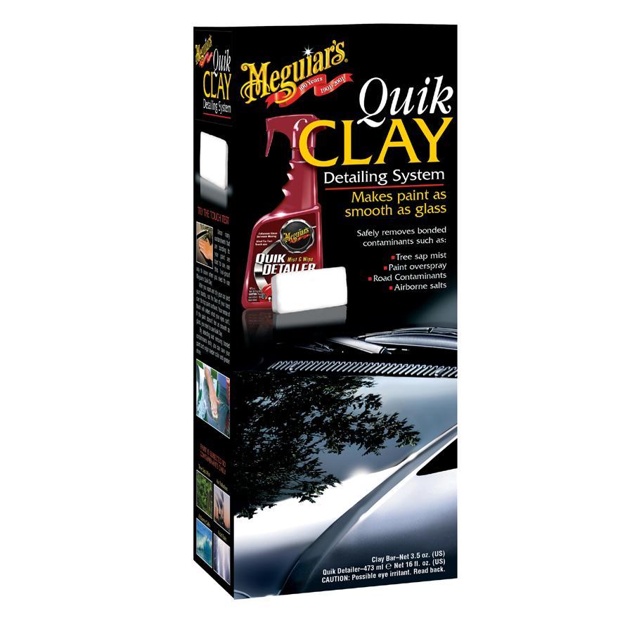 Meguiars Quik Clay Starter Kit 473ml - sada na čištění laku