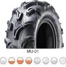 Čtyřkolkové pneu Maxxis Zilla MU-01, 27x9.00-12 52J 6PR