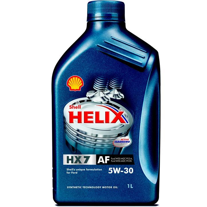 Motorový olej Shell Helix HX7 AF 5W-30 - 1 litr
