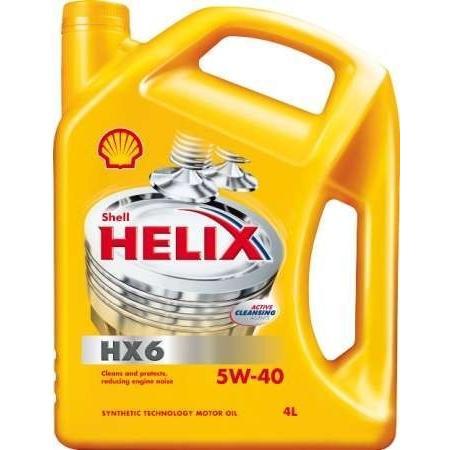 Motorový olej Shell Helix HX6 5W-40 - 5 litrů