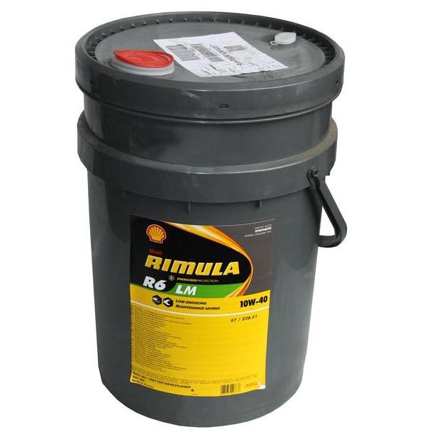 Motorový olej Shell Rimula R6 LM 10W-40 - 20 litrů