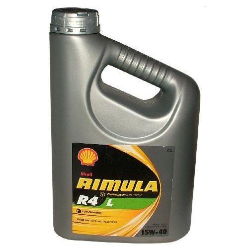 Motorový olej Shell RIMULA R4 L 15W-40 4 Litry