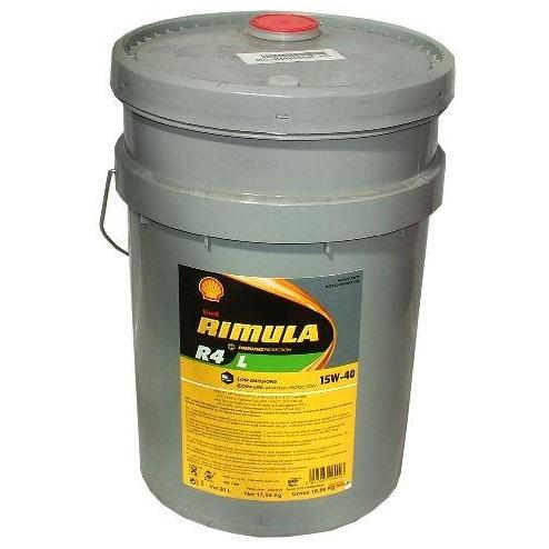 Motorový olej Shell RIMULA R4 L 15W-40 20 L