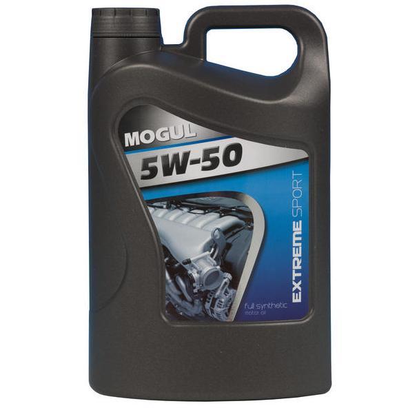 Motorový olej MOGUL EXTREME SPORT 5W-50 - 4 litry
