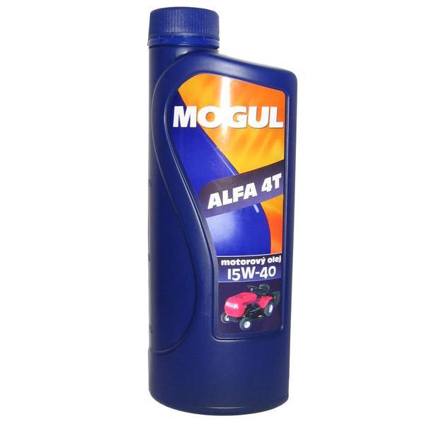 Vysokootáčkový motorový olej Mogul Alfa 4T 15W-40 - 1 litr