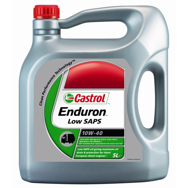 Motorový olej Castrol Enduron 10W-40 5 lt