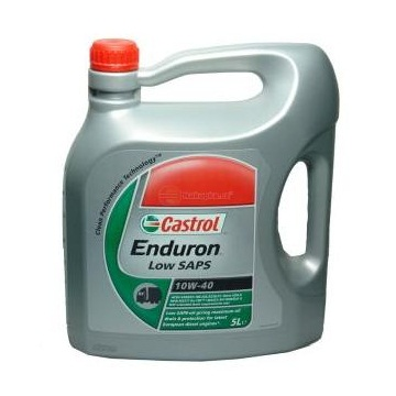 Syntetický motorový olej Castrol Enduron Low SAPS 10W-40 5 lt