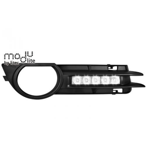 Denní svícení - LED DIODOVÁ SVĚTLA AUDI A3 8P 03-08 (kouřové)