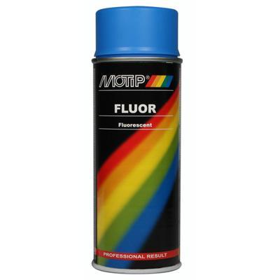 MOTIP - fluor signální spray, barva modrá, 400 ml