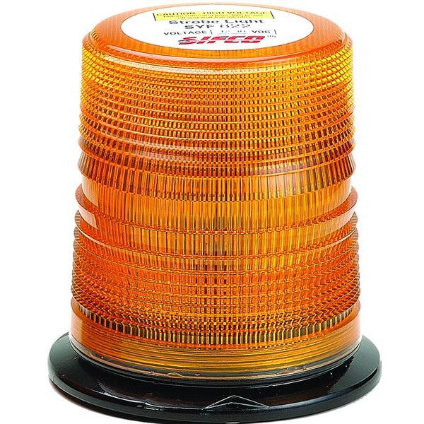 Zábleskový maják 12-24V, oranžový