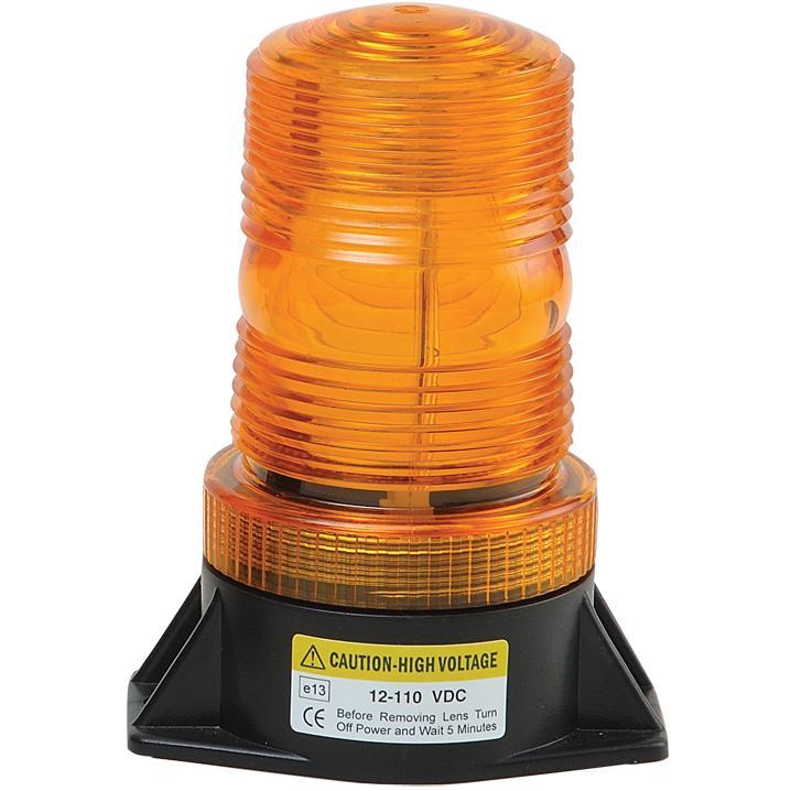 Zábleskový maják 12-110V, oranžový