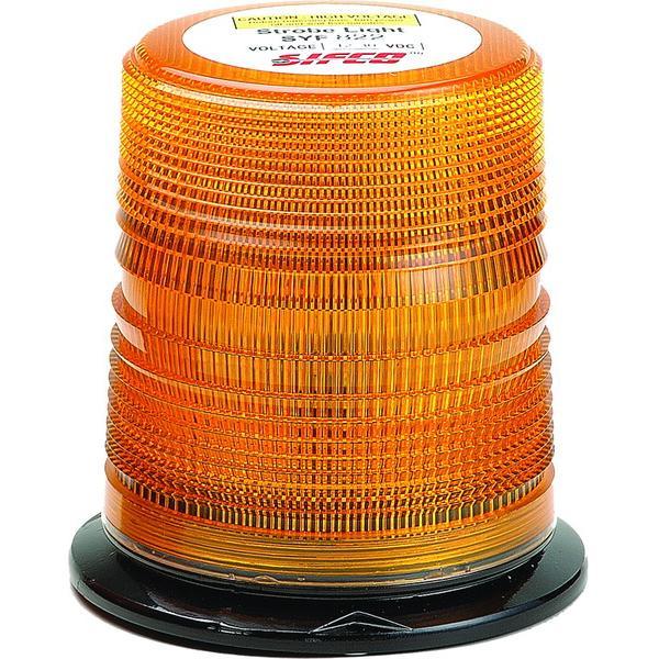 Zábleskový maják 12-30V, oranžový