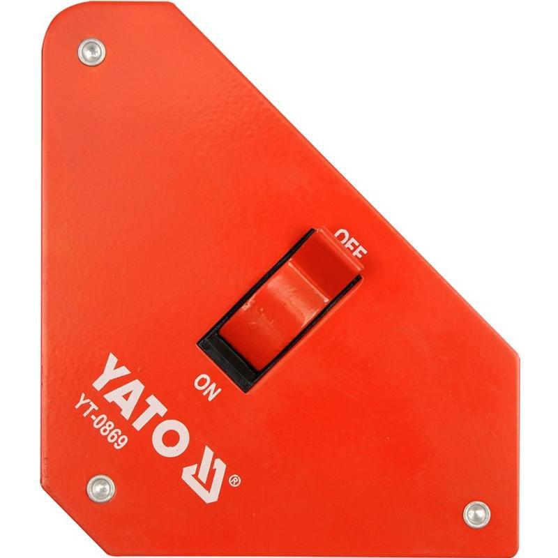 Úhelník magnetický ke svařování 11,5 kg, 117x192x32 mm Yato YT-0869