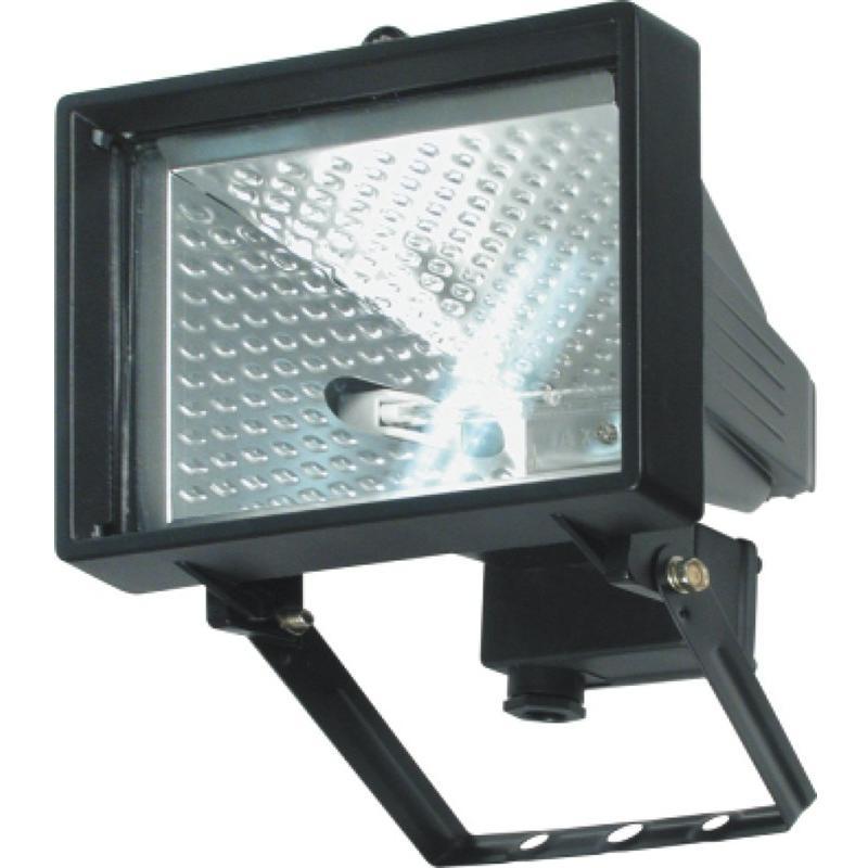Lampa halogenová 150W černá