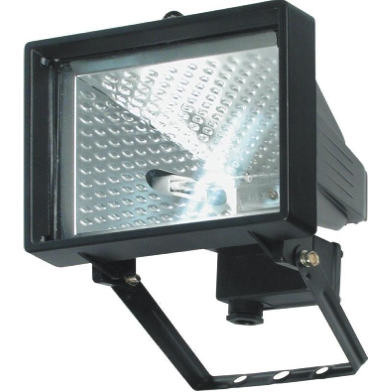 Lampa halogenová 120W černá