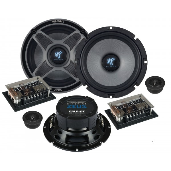 Komponentní reproduktory Hifonics ZSi6.2c, 160mm, 250W