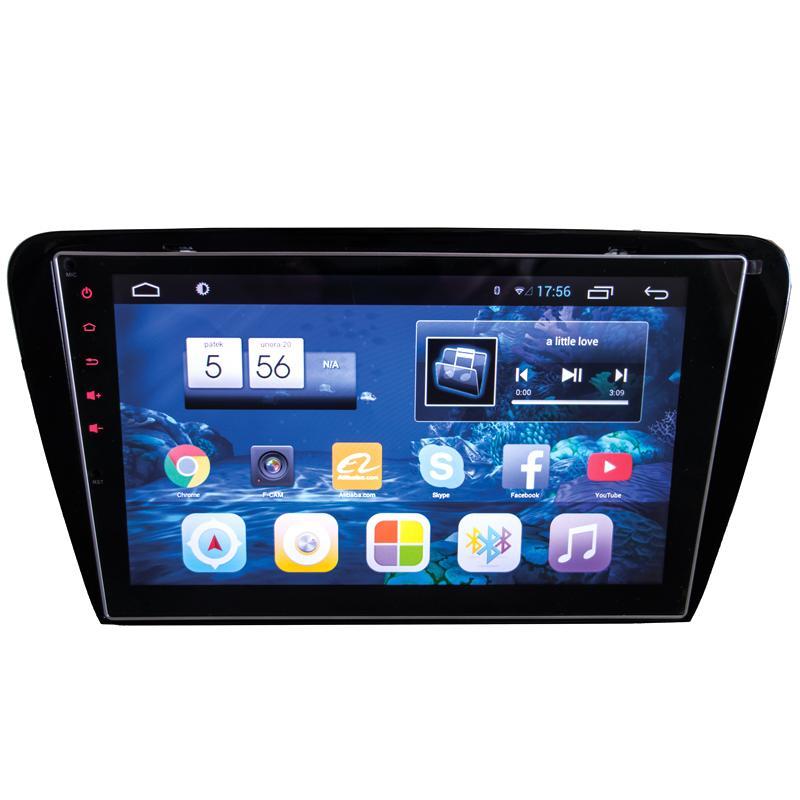 Autorádio pro Škoda Octavia III 2014- s 10,2'' LCD, Android 4.4.2, WI-FI, GPS