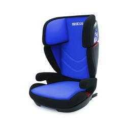 Autosedačka SPARCO 15-36kg, ISOFIX, modro-černá