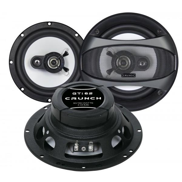 Koaxiální reproduktory Crunch GTi62, 165mm, 180W