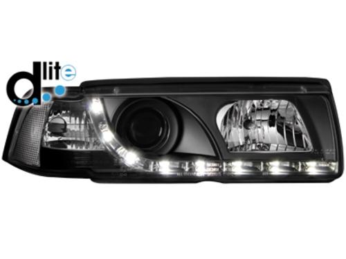 D-LITE přední světla s denním svícením BMW 3 E36 sedan 92-98 černé
