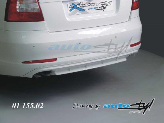 Difuzor zadního nárazníku - pro lak - sedan/combi