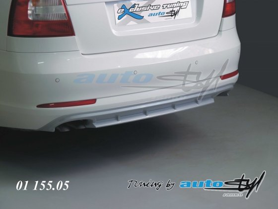 Difuzor zadního nárazníku - stříbrný - sedan/combi