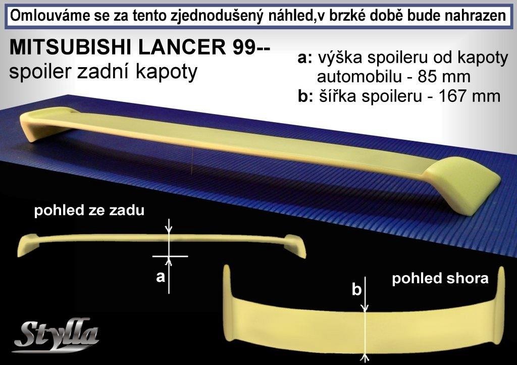 Křídlo MITSUBISHI Lancer sedan r.v. 95-03