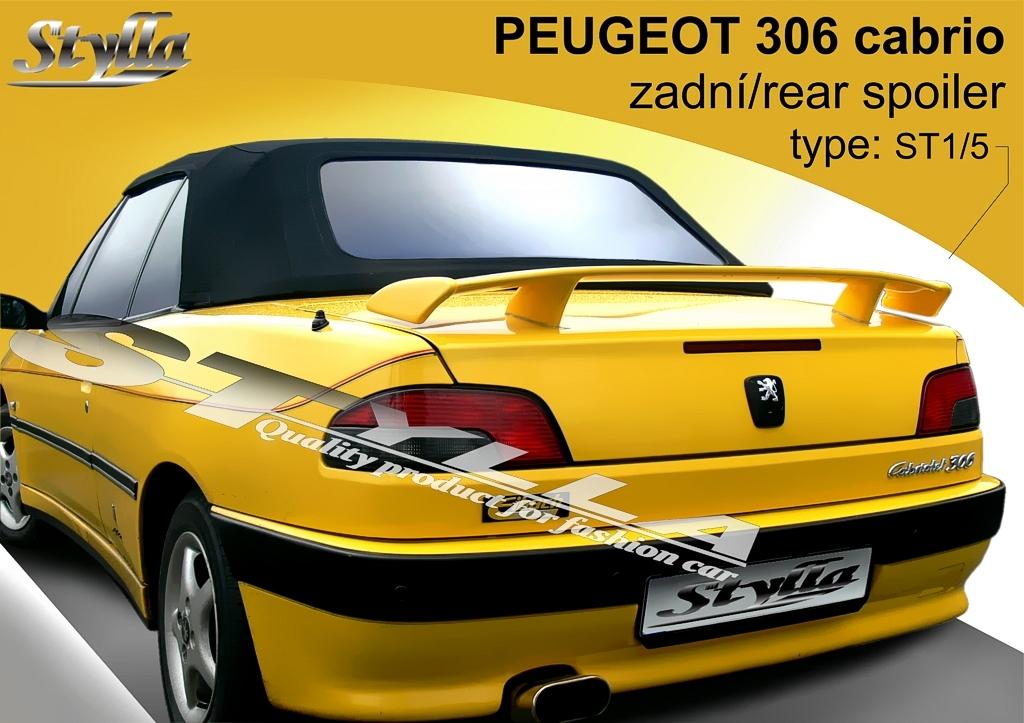 Křídlo PEUGEOT 306 cabrio r.v. 94-03