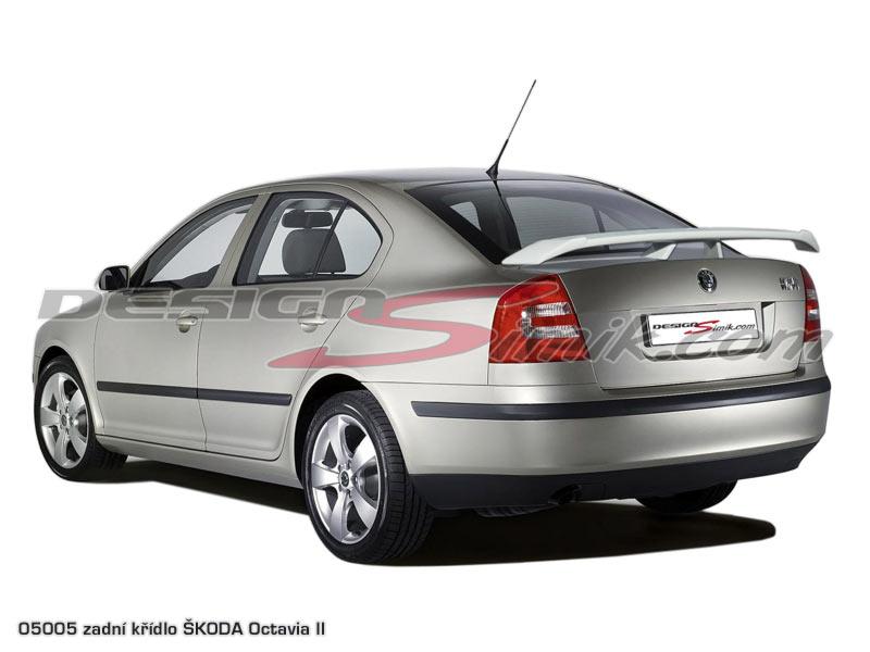 Křídlo Škoda Octavia II - laminát