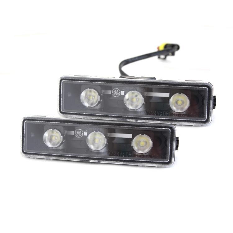 LED světla pro denní svícení s natáčením GE DRL 31