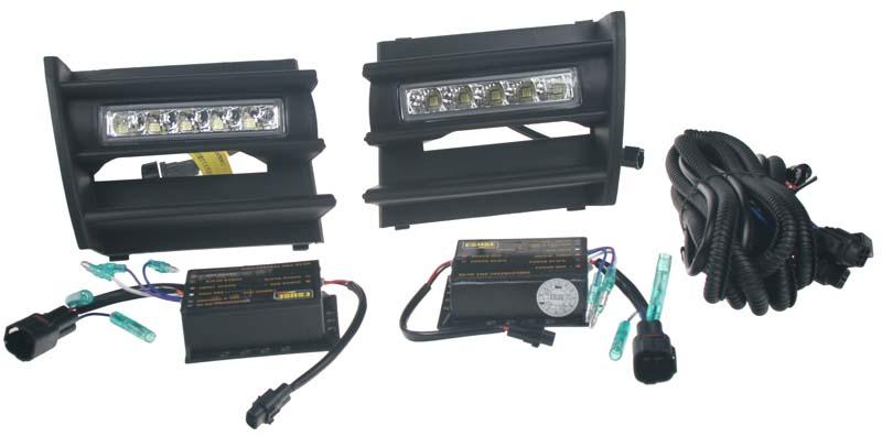 LED světla s originálními plasty - Octavia II. 2004 - 2008