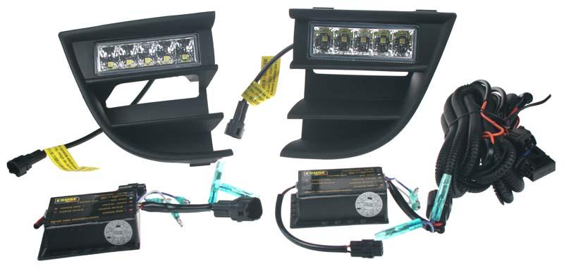 LED světla s originálními plasty