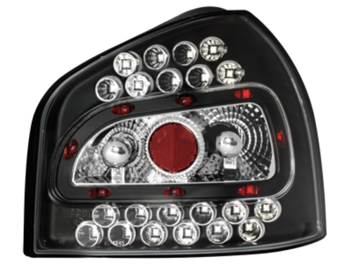 LED zadní světla Audi A3 8L 09.96-04 černé