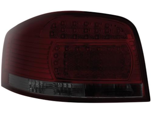 LED zadní světla Audi A3 8P 03-09 červené/kouřové