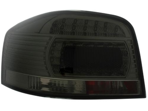 LED zadní světla Audi A3 8P 03-09 kouřové