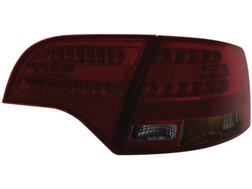 LED zadní světla Audi A4 Avant B7 04-08 kouřové