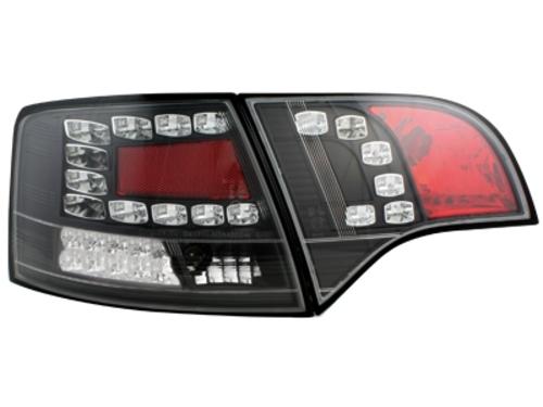 LED zadní světla Audi A4 Avant B7 04-08 LED blinkr černé